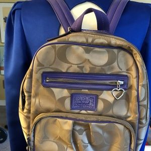 Coach Daisy Signature Backpack